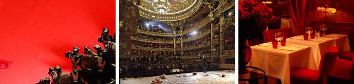 conciergerie prestige service sorties concert restaurant spectacle opera sport